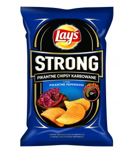 Lay's Strong Pikantne Pepperoni 140g