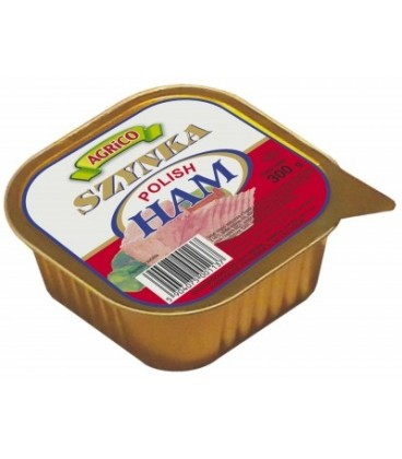 Agrico szynka polish ham kwadrat 300g
