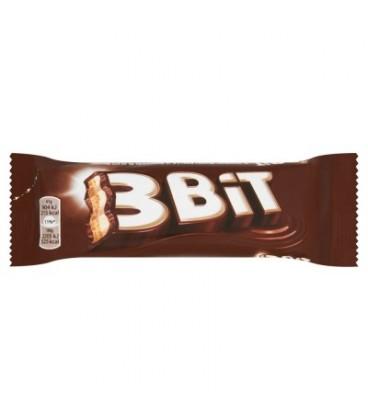 3Bit Baton w czekoladzie mlecznej z nadzieniem mlecznym i herbatnikiem 41 g