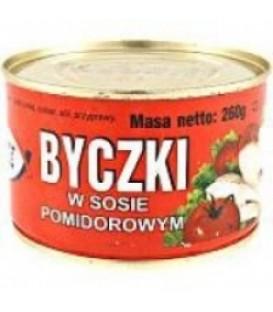 BMC byczki w s.pomidorowym 310g