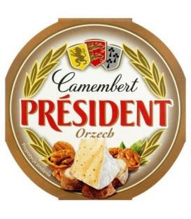 President camembert 120g orzech