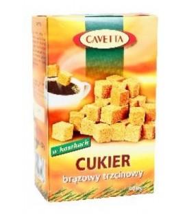 Cukier trzcinowy brązowy w kost.500g