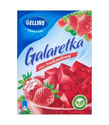 Gellwe Galaretka smak truskawkowy 75 g
