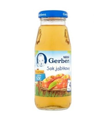 Gerber Mój pierwszy 100% Sok jabłkowy po 4 miesiącu 175 ml