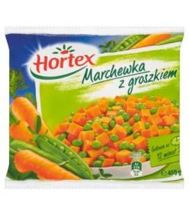 Hortex Marchewka z groszkiem 450 g