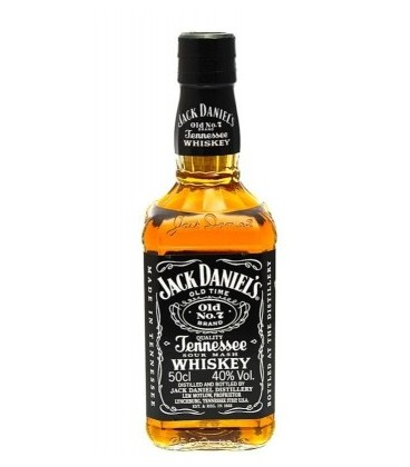 JACK DANIEL'S TENNESSEE WHISKEY 40% 0,5L