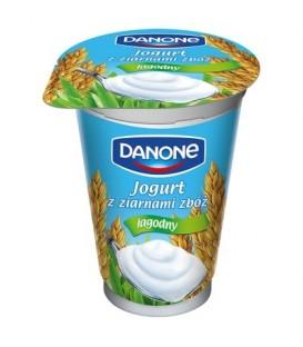 Danone Jogurt z ziarnami zbóż łagodny 175 g