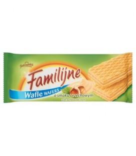 Familijne Wafle o smaku orzechowym 180g