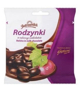 Rodzynki w czekoladzie mlecznej 80g