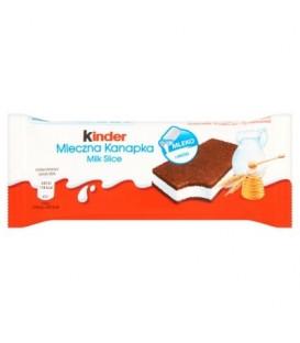 Kinder Mleczna Kanapka Biszkopt z mlecznym nadzieniem 28 g