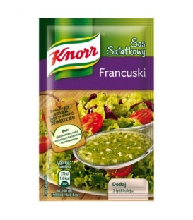 Knorr Sos sałatkowy francuski 9 g