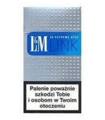 L&M Link Blue Superslims 100 Box papierosy