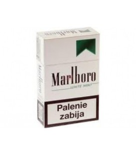 Marlboro white mint papierosy