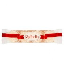 Raffaello Confetteria Kokosowy smakołyk z chrupiącego wafelka z całym migdałem w środku 40 g