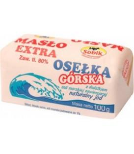 Masło Extra Osełka Górska z dodatkiem soli 100g