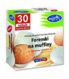 Foremki na muffiny 30szt.