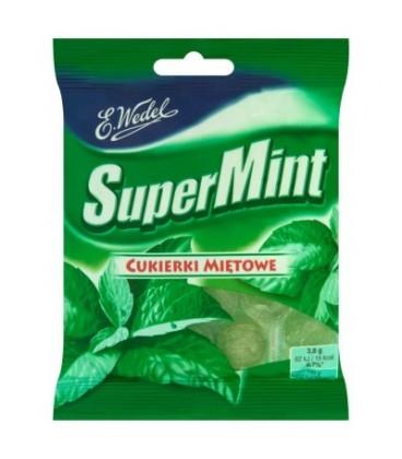 Wedel cukierki ladnrynki Supermint 90g