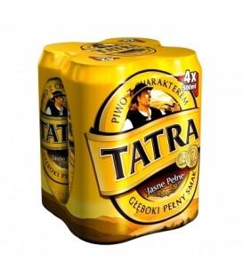 Tatra jasne piwo puszka 4x0,5L