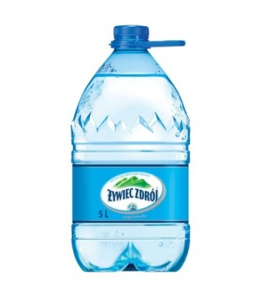 ŻYWIEC ZDRÓJ niegazowany 5 litrów – woda źródlana 5l