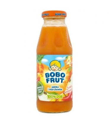 Gerber Bobo Frut sok jabłko-marchew 100% 300g