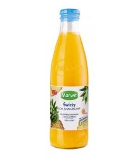 Marwit sok ze świeżych ananasów 250ml