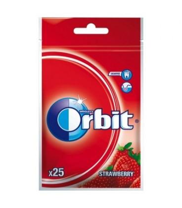ORBIT WILD STRAWBERRY - 25 DRAŻETEK