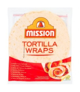 Mission Tortilla Wraps Tortilla pszenna 245 g (4 sztuki)