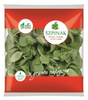 Green factory Szpinak Baby 250g