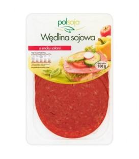 Polsoja Wędlina sojowa o smaku salami 100 g