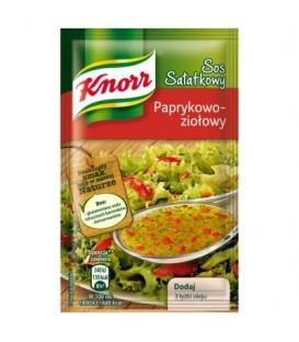 Knorr Sos sałatkowy paprykowo-ziołowy 9 g