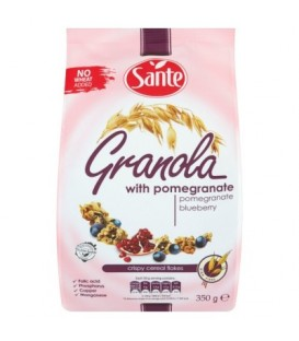 Sante Granola z granatem i jagodą 350 g