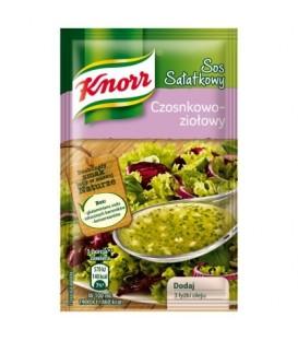 Knorr Sos sałatkowy czosnkowo-ziołowy 9 g