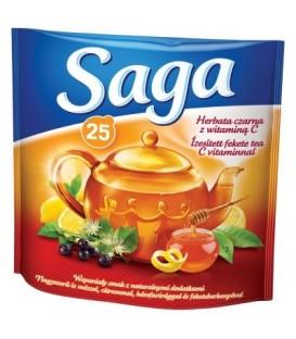 Saga herbata czarna z Vit C 25tb