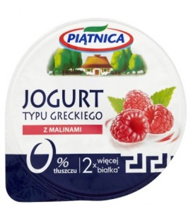 Piątnica jogurt grecki malina 150g