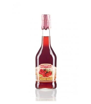 Polska róża syrop różano-malinowy 500ml