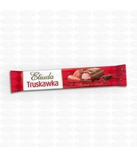 Etiuda Batonik czekoladowy truskawka 42g