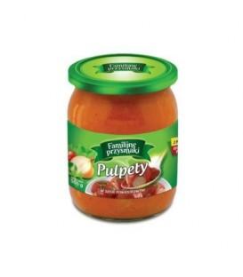 Familijne Przysmaki Pulpety w sosie pomidorowym 50