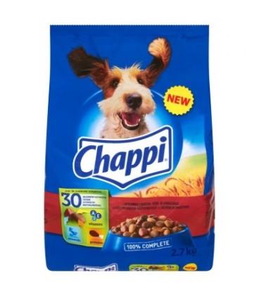 Chappi wołowina,drób 2,7kg