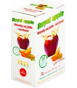 Royal Apple jabłko-marchewka 3L