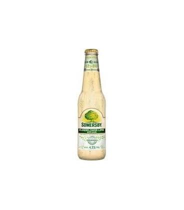 Somersby Elderflower lime butelka 0,4L