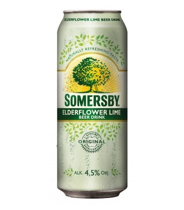 Somersby Elderflower lime puszka 0,5L
