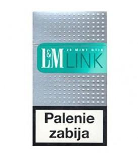 L&M Link Menthol Supersl.100 Box papierosy