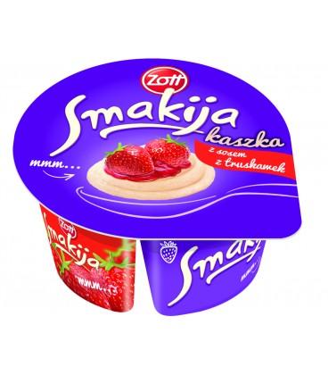 SMAKIJA kaszka z sosem truskawkowym 130 g