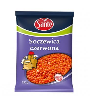 SOCZEWICA CZERWONA SANTE 350 g.