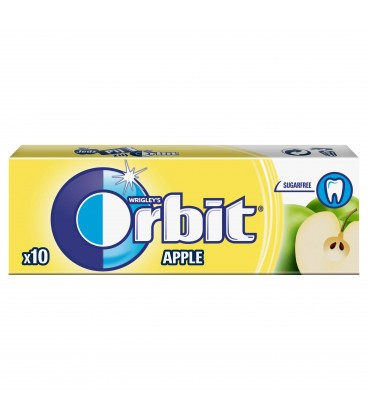 ORBIT APPLE - 10 DRAŻETEK TEST SZT
