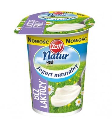 Zott jogurt bez laktozy naturalny 180g