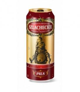 Szlacheckie piwo pils 5% puszka 500ml