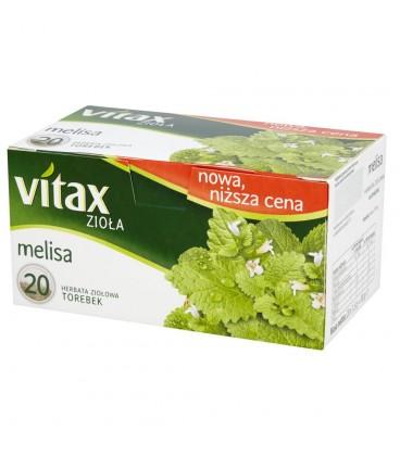 Vitax Zioła Melisa Herbata ziołowa 30 g (20 torebek)