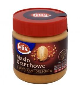 Felix Masło orzechowe z kawałkami orzechów 350 g