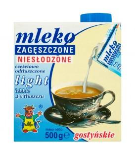 SM Gostyń Mleko gostyńskie zagęszczone niesłodzone light 4% 500 g
